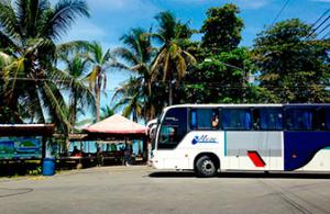 Puerto Viejo bus station